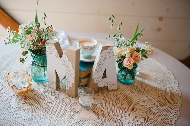 Aqua and Orange Modern Vintage Wedding | Jessica Ames (64)