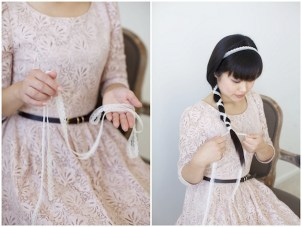 Simple & Pretty DIY Hairstyle Using Lace