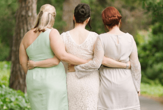 Chic & Intimate Grey, Mint Green & Red Wedding Part 1