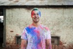 Colourful Holi Powder Engagement Shoot by C J Williams Photography (14)