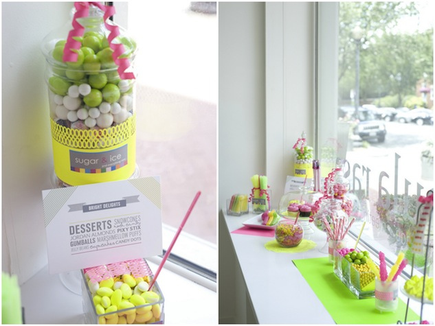 Neon wedding, boda fluor