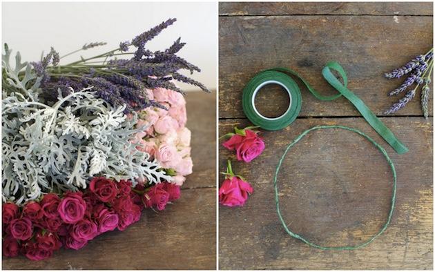 DIY Wild Roses Floral Crown