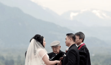 Colourful and Fun Mountaintop Wedding Film