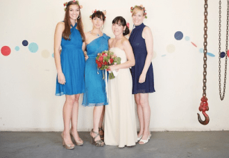 Unique, Nautical Chic Navy Yard Wedding In Brooklyn Part 2