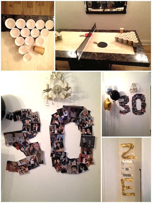 Ideas For 30th Birthday Party Him To