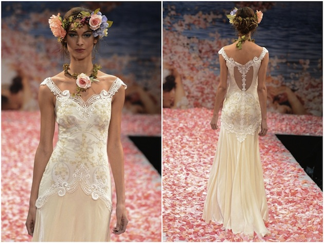 Claire pettibone s whimsical wedding dress collection fall 2015