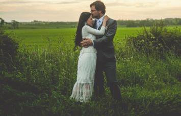Creative & Unique DIY Scottish / Japanese Barn Wedding Part 2
