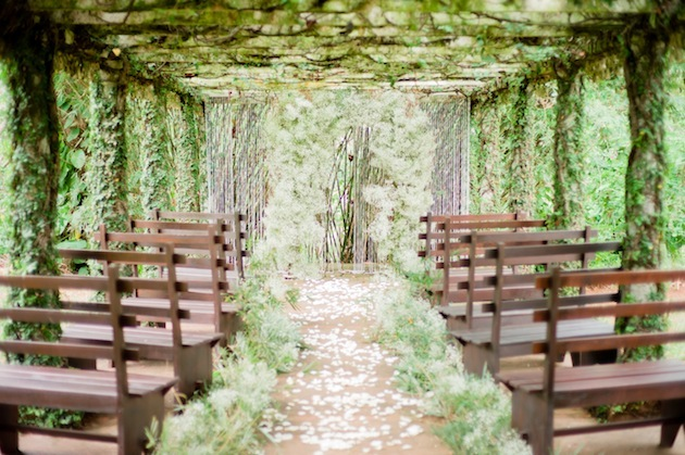 A Dreamy Rustic White Amp Green Wedding Shoot
