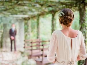 A Dreamy Rustic White & Green Wedding Shoot