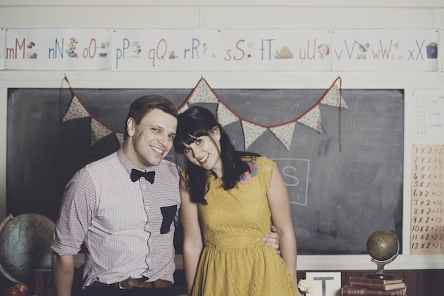 School Themed Engagement Shoot | CJ Williams Photography 8