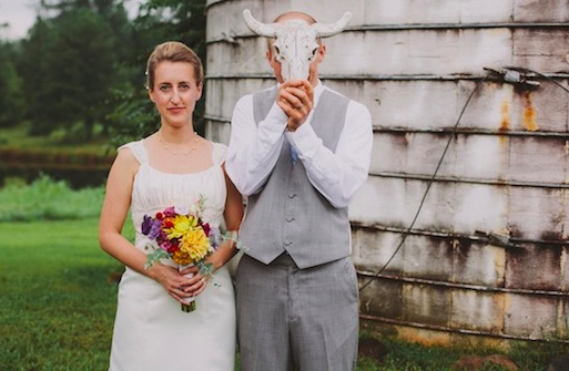 eco chic farm wedding | Brett and Jessica Photography