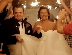 Beautiful, Rainy Texas Wedding Film By Copper Penny Films