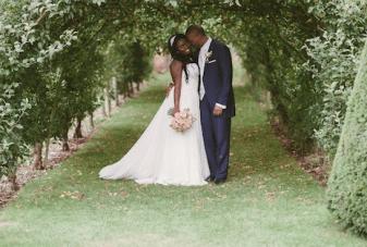 Unique Pink & Blue British, African & Caribbean Wedding (2)