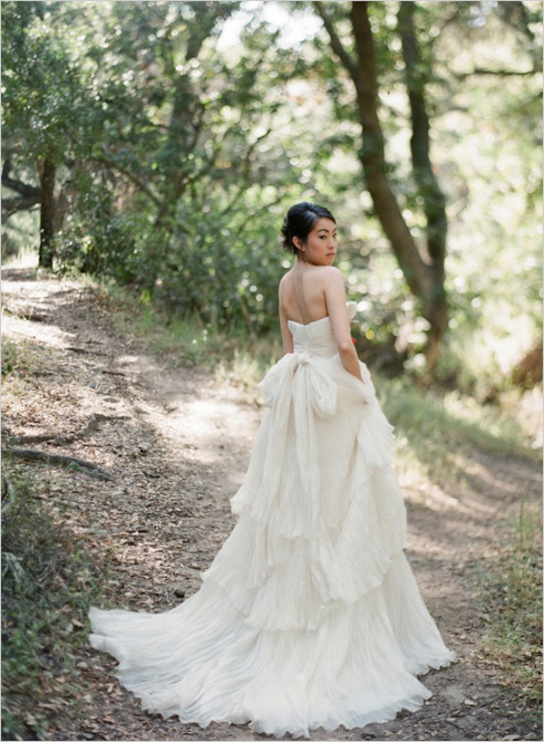 Eco Chic Wedding Dress, Earth Friendly Wedding Dress by Lindee Daniel (2)