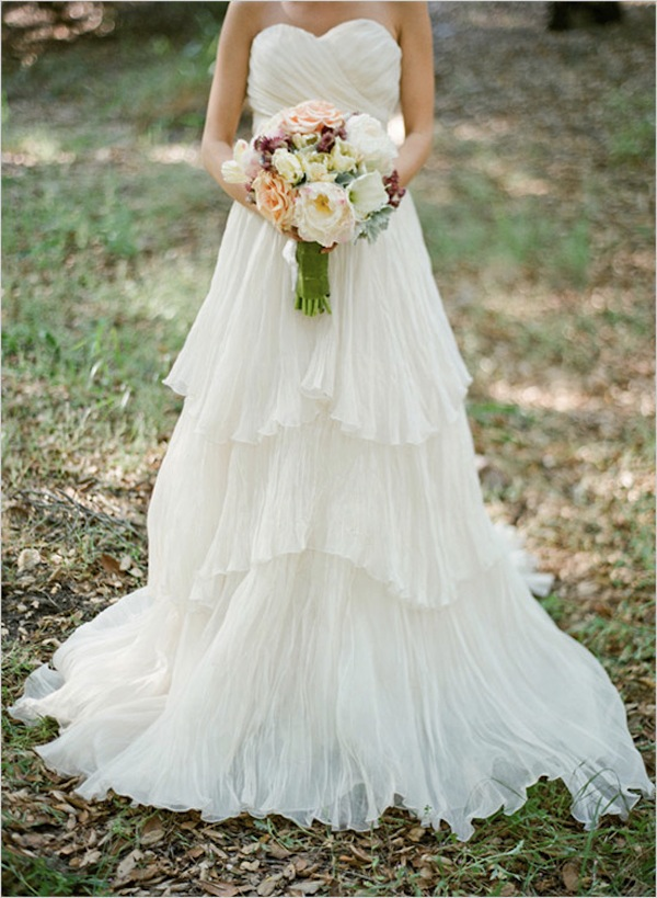 eco chic wedding dress lauren by lindee daniel