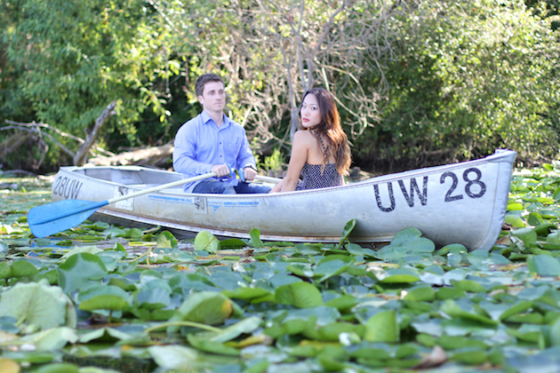 Kiss The Girl Inspired Row Boat Engagement Shoot | Emma Wyatt Photography (6)