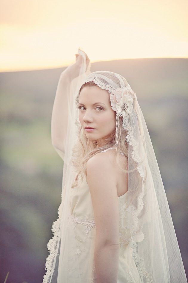 Silver Sixpence In Her Shoe Headpieces & Accessories | Vineyard Shoot | Katy Lunsford Photography (18)
