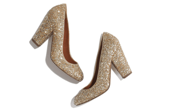 Twinkle Toes: Top 10 Glitter Wedding Shoes