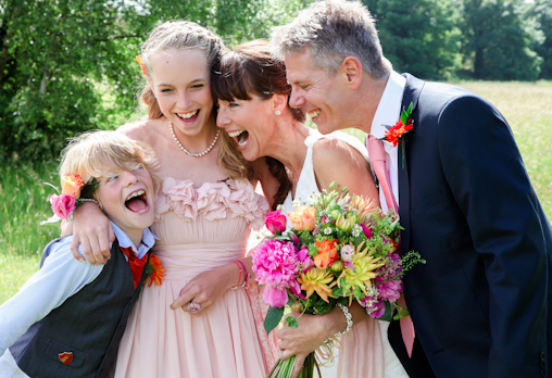 colourful, intimate and joyful picnic wedding