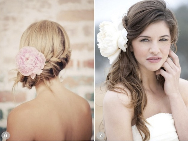 50 Dreamy Wedding Hairstyles For Long Hair: 50 Romantic Wedding Hairstyles Using Flowers