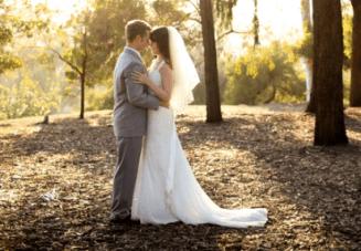 Pretty Pastels & Lace DIY Wedding In California
