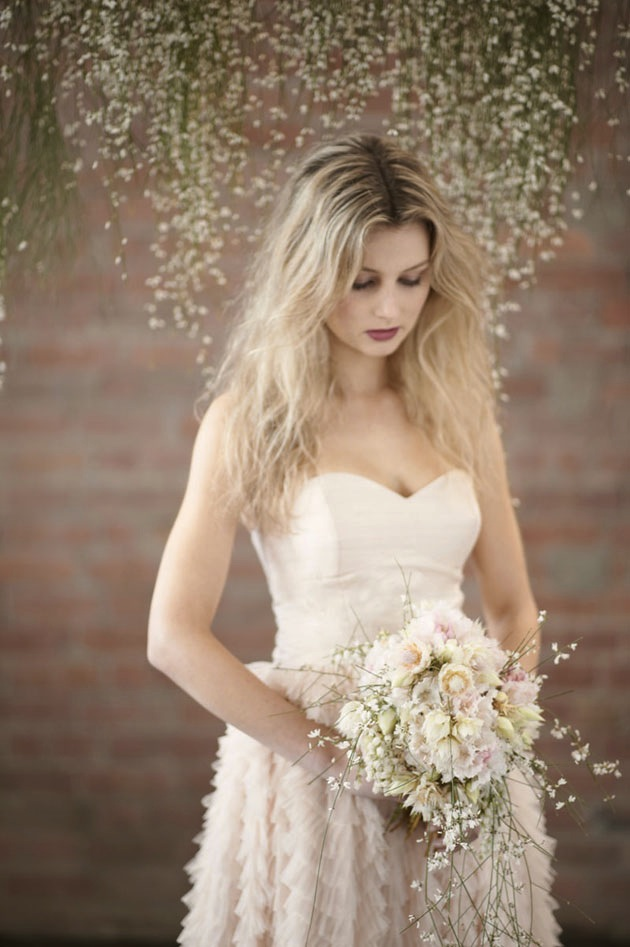 Whimsical Wedding Photography: Blush Pink, Romantic & Whimsical Wedding Inspiration Shoot