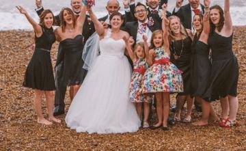 A Unique & Colourful Carnival Themed Wedding In Brighton (2)