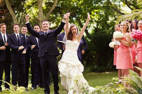 Happy Joyous Recessional Songs | Confetti Toss | Newlyweds Walk Up The Aisle (10)