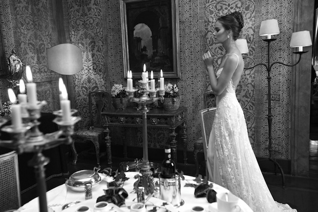 Low Back Lace Wedding Gown: Inbal Dror Sexy, Beautiful Wedding Dresses 2012 Collection