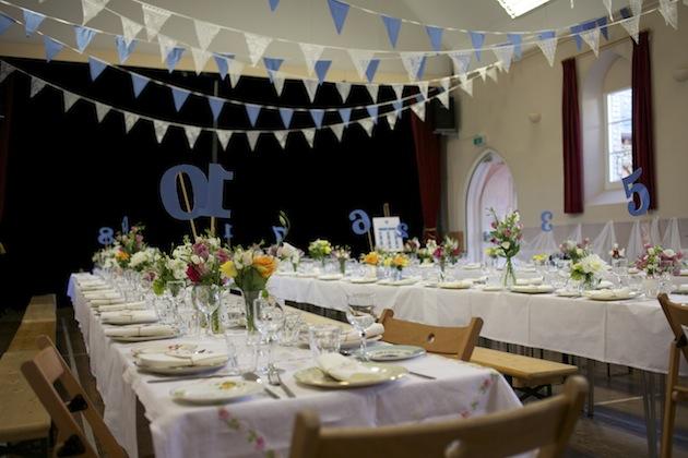 Wedding decoration ideas for village hall all the best ideas about quirky diy cornish village hall wedding junglespirit Gallery