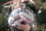 christmas decoration wedding keepsake