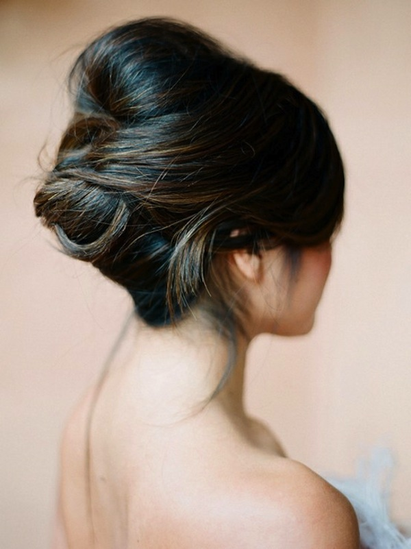 Wedding Hair Inspiration Tutorials The French Twist
