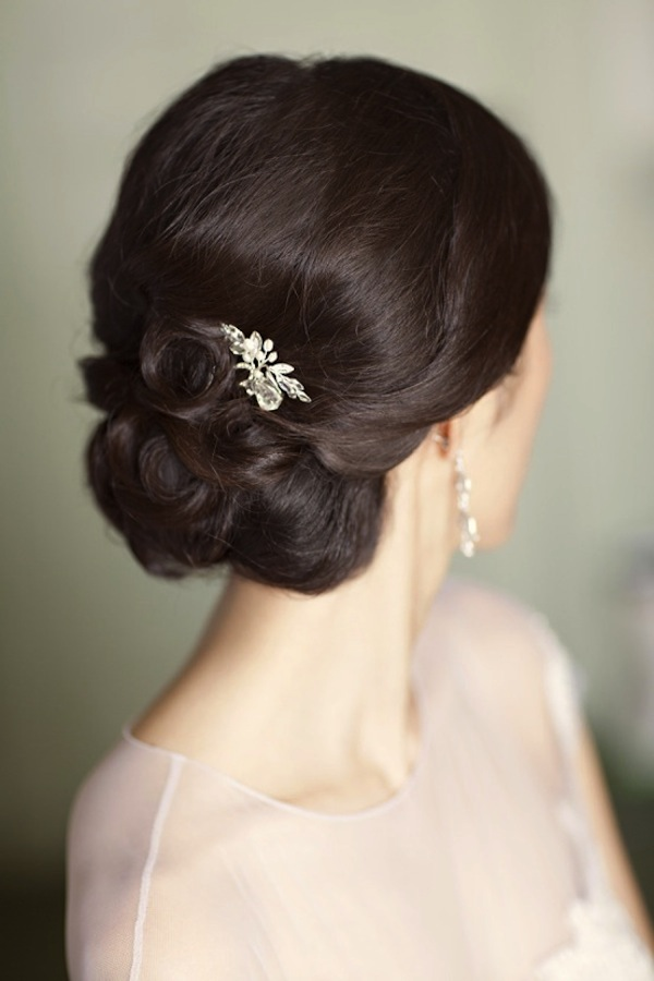 Wedding Hair Inspiration - Bridal Chignons | High Society Bridal