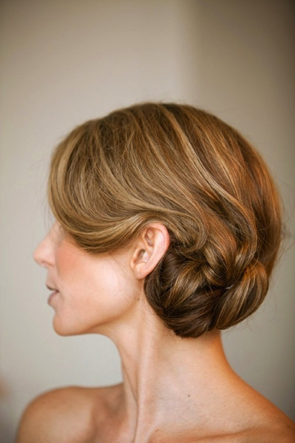 ... chignon with lots of body. The bling really brings the chignon to the