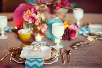 Turquoise and Fushia Wedding Ideas and Inspiration