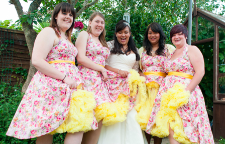 1950s Colourful Wedding | FO Photography