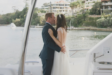 Chic Yacht Wedding in Australia | C J Williams Photography | Bridal Musings