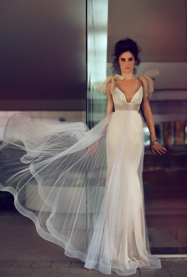 Bridal musings wedding blog modern glamourous sexy wedding dresses