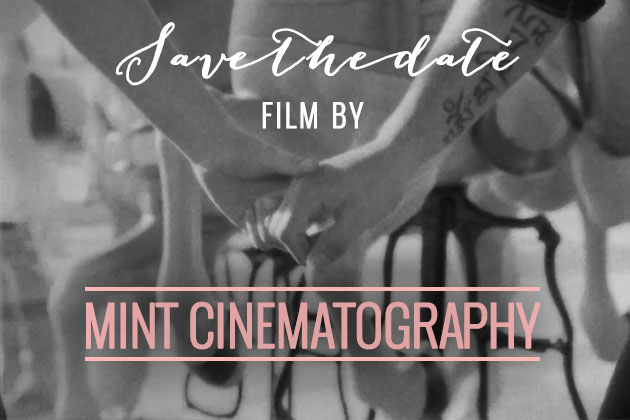 save the date film by Mint Cinematography