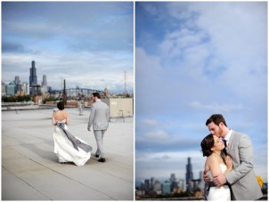 Eclectic Urban Chic Wedding At Salvage One, Chicago