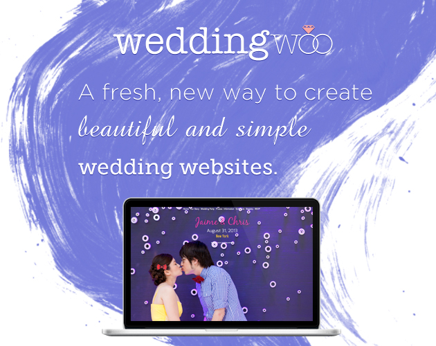 WeddingWoo Beautiful Simple Wedding Websites (1)