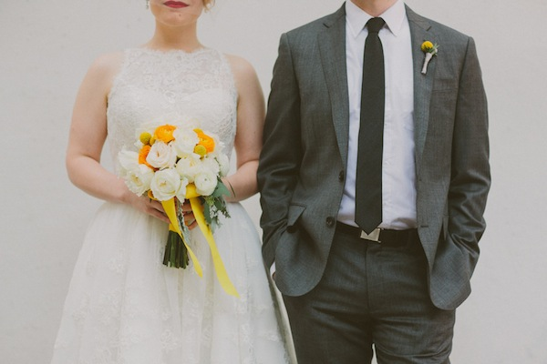 Yellow and Grey Retro Wedding | With Love And Embers (31)