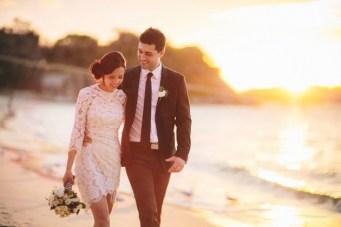 Chic Black & White Wedding in Sydney