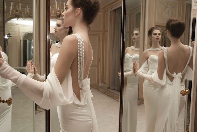 Inbal dror 2013 wedding dress collection bridal musings for Israeli wedding dress designer inbal dror