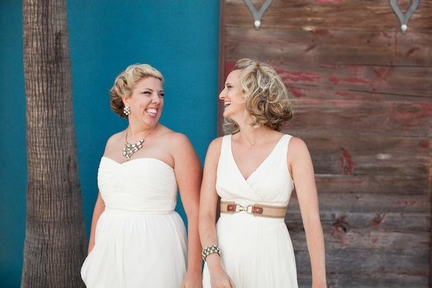 Modern Country Chic Wedding Dress : Modern country chic wedding in la bridal musings