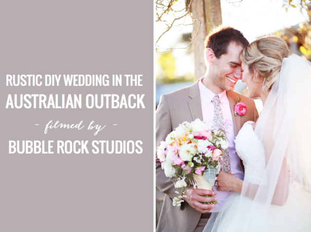 Rustic DIY Australian wedding | Bubble Rock Studios