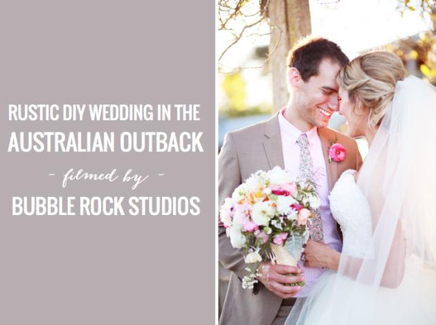 Rustic DIY Australian wedding | Bubble Rock Studios