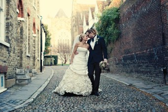 Chic, Unique & Fun Winter Wedding At The George In Rye
