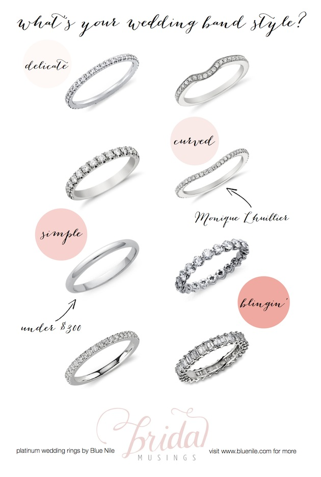 Wedding bands styles