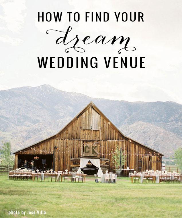 Top Tips On Choosing Your Dream Wedding Venue